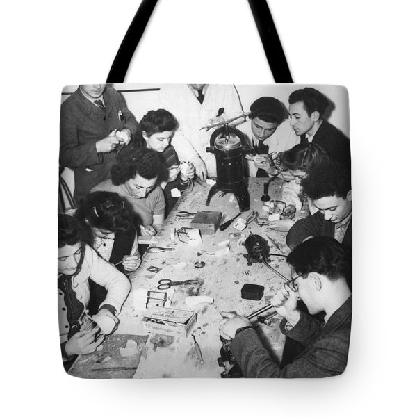 Jews Taking A Dentistry Course Tote Bag