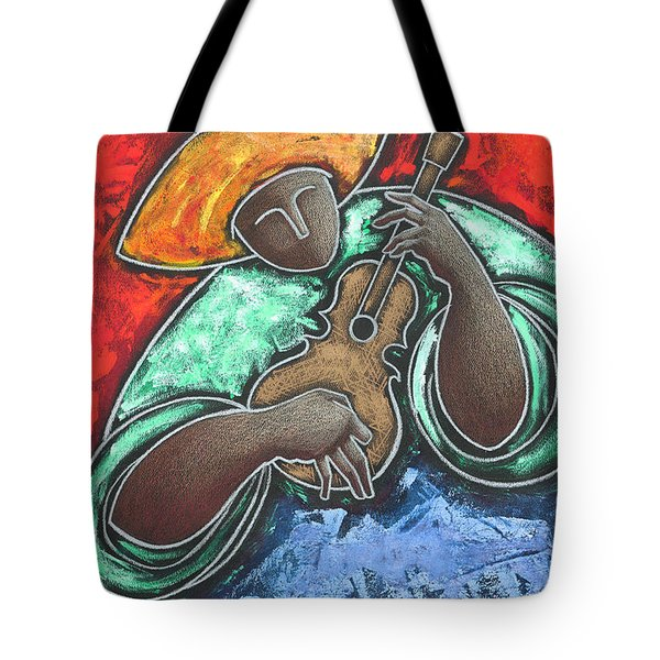 Tote Bag featuring the painting Jibaro Encendi'o by Oscar Ortiz