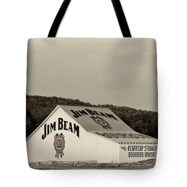 Jim Beam - D008291-bw Tote Bag