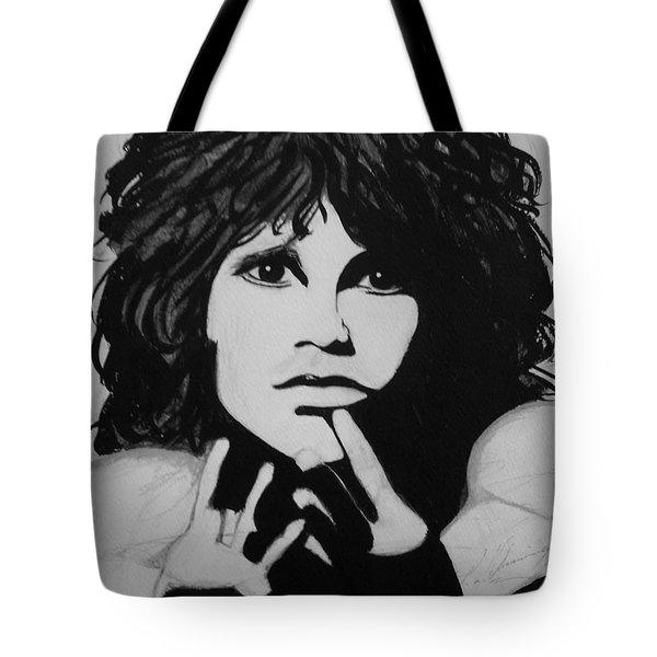 Jim Morrison Tote Bag
