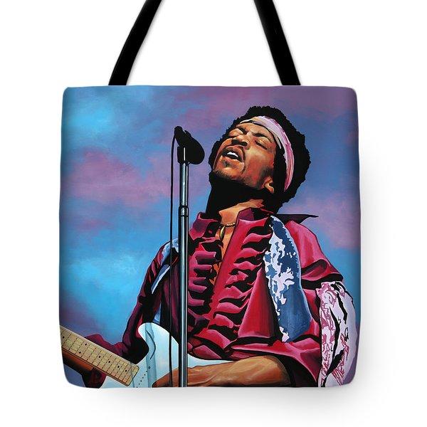 Jimi Hendrix 2 Tote Bag