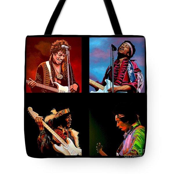 Jimi Hendrix Collection Tote Bag