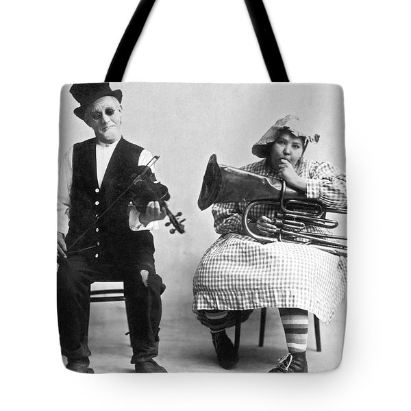 Jimmie And Blanche Creighton Tote Bag