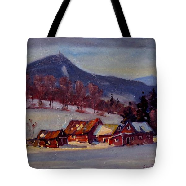 Jimmie's Place Tote Bag by Len Stomski