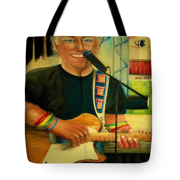 Jimmy Buffett In Paris Tote Bag