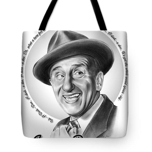 Jimmy Durante Tote Bag by Greg Joens