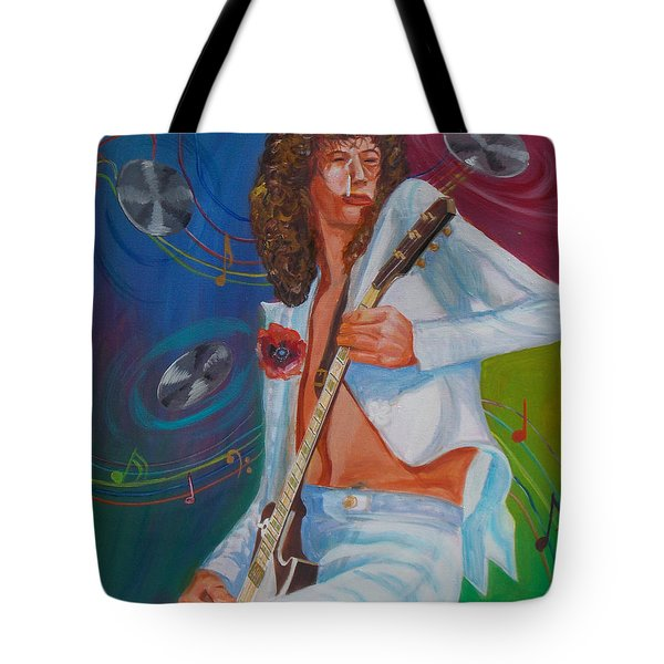 Jimmy Page 2 Tote Bag by To-Tam Gerwe