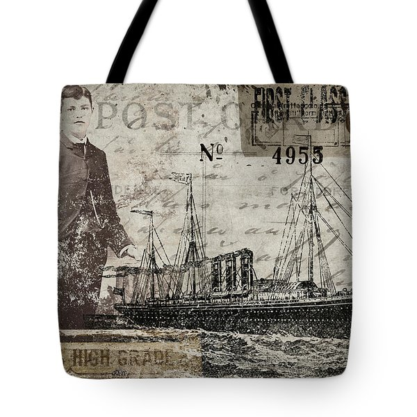 Jimmy Plays With Boats Tote Bag