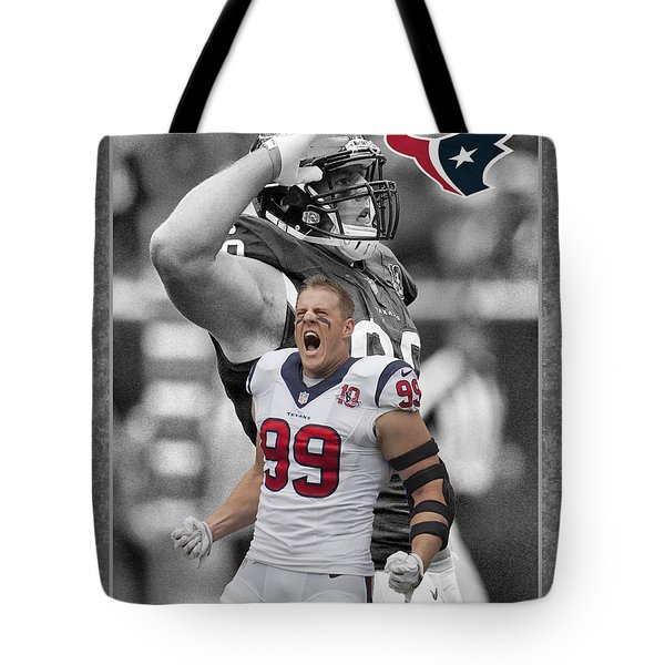 Jj Watt Texans Tote Bag