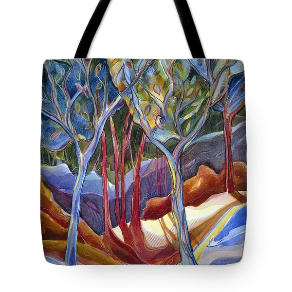 Jn126 Shelter 2 Tote Bag by Jen Norton