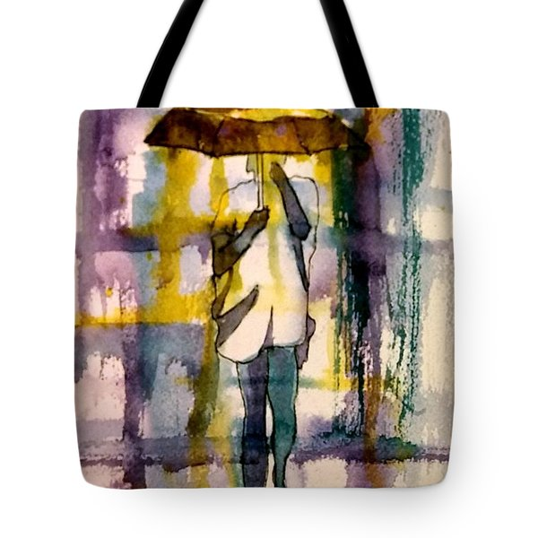 Tote Bag featuring the painting Jo Malone 2 by Debbie Lewis