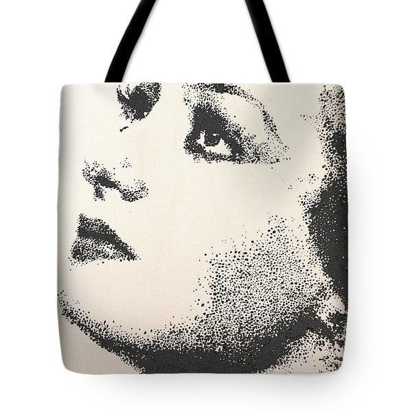 Joan Crawford Tote Bag