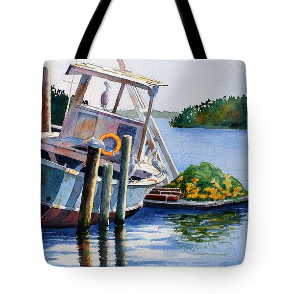 Joan II And Mates Tote Bag by Roger Rockefeller
