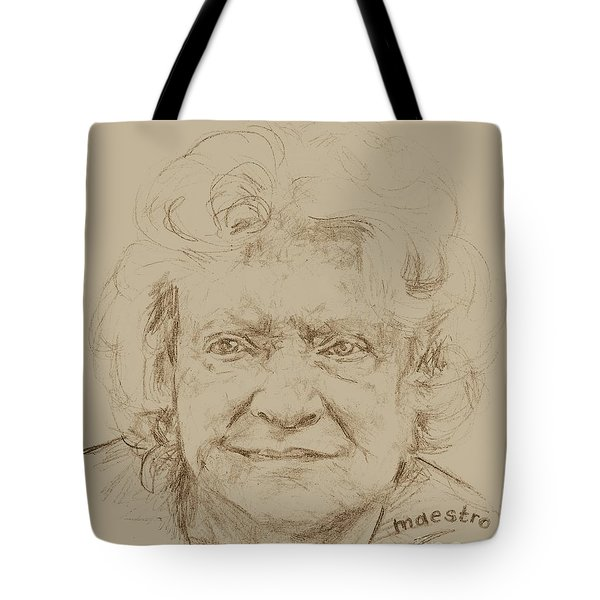 Joan Tote Bag by  Maestro