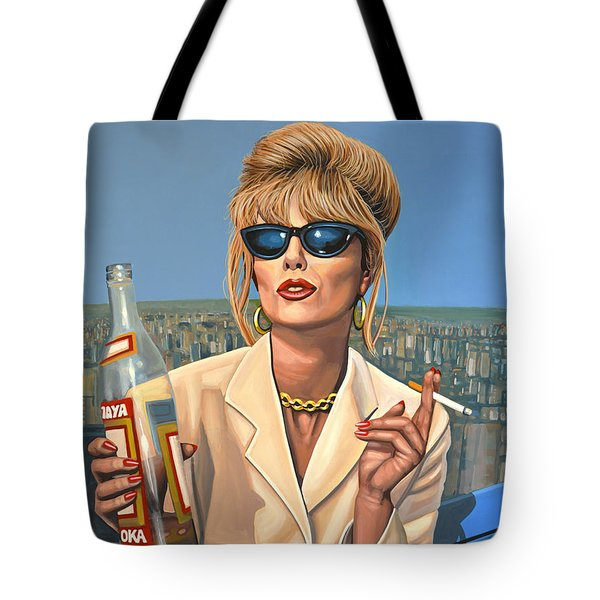 Joanna Lumley As Patsy Stone Tote Bag