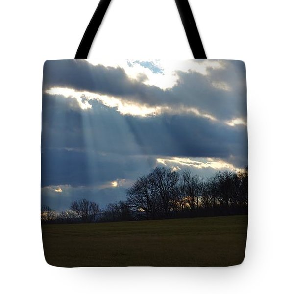 Job 12 22 Tote Bag by Carlee Ojeda