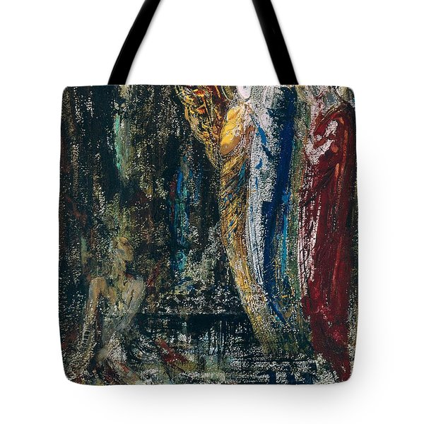Job And The Angels Tote Bag