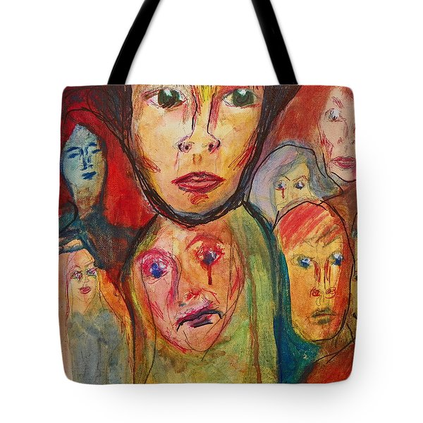 Jodi And The Puzzles Of Life Tote Bag