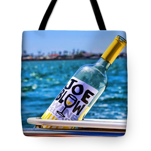 Joe Blow Saves The Day By Diana Sainz Tote Bag