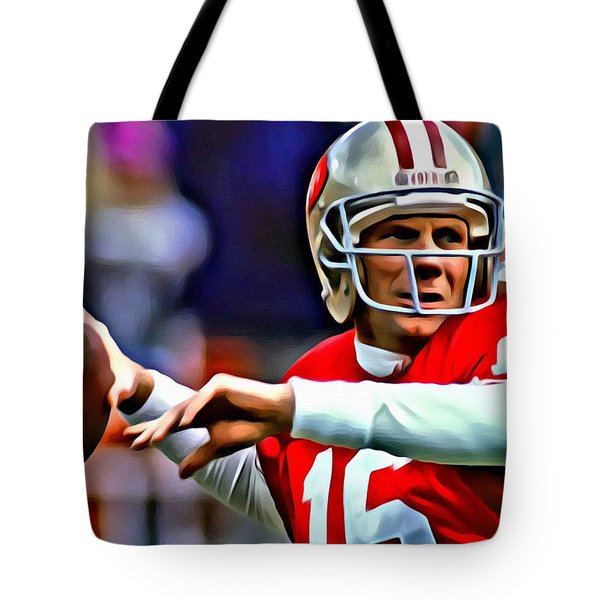 Joe Montana Tote Bag
