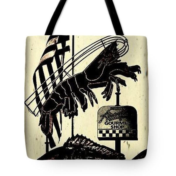 Joe Patti Tote Bag by Janice Spivey