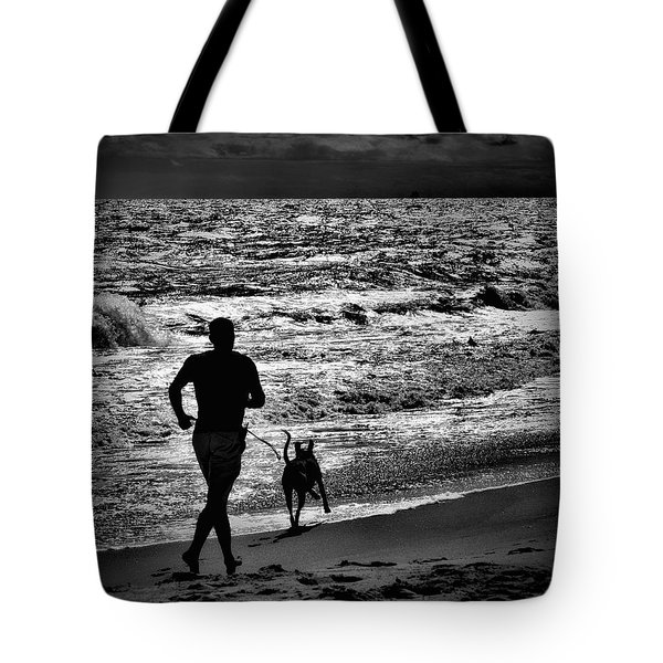 Joggin Wit Dad Tote Bag