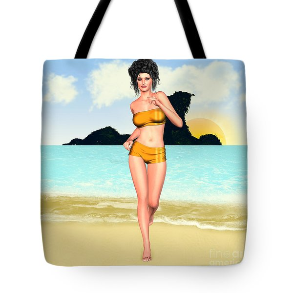 Jogging Miriam Tote Bag by Renate Janssen