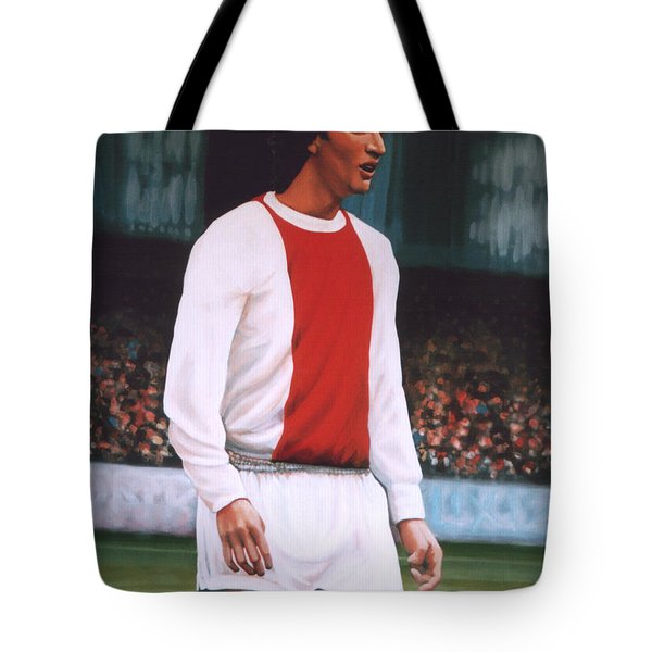Johan Cruijff  Tote Bag