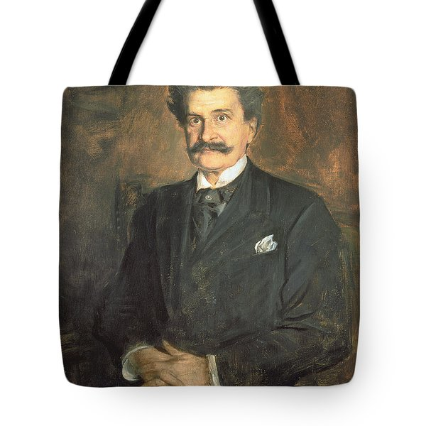 Johann Strauss The Younger, 1895 Tote Bag