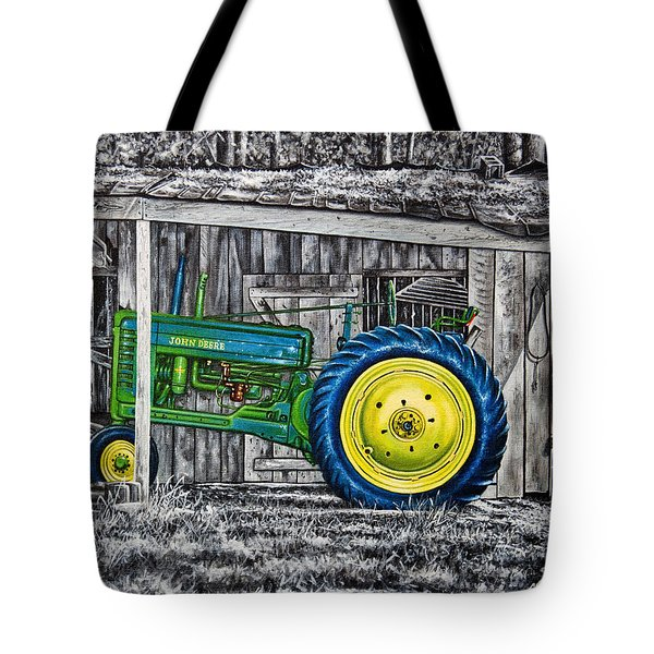 John Deere Green Tote Bag