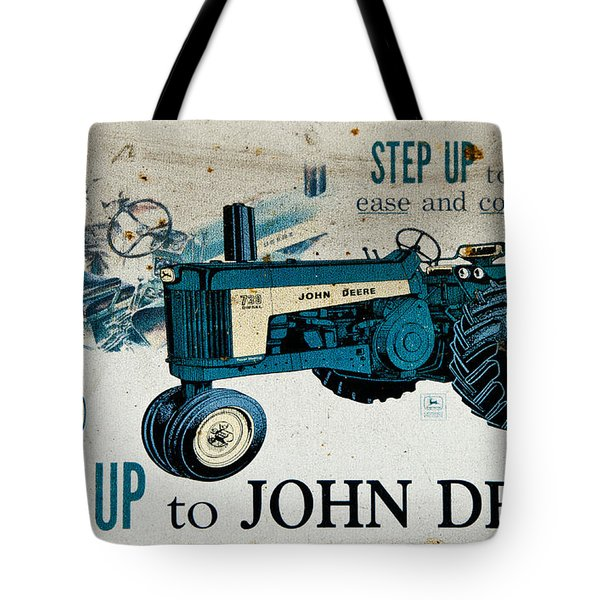 John Deere Tractor Sign Tote Bag