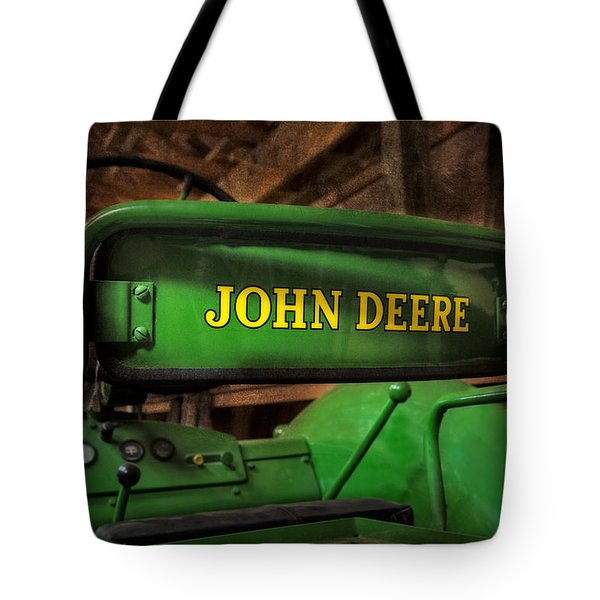 John Deere Tractor Tote Bag by Susan Candelario