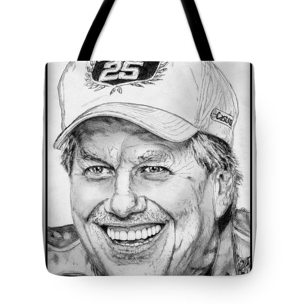 John Force In 2010 Tote Bag
