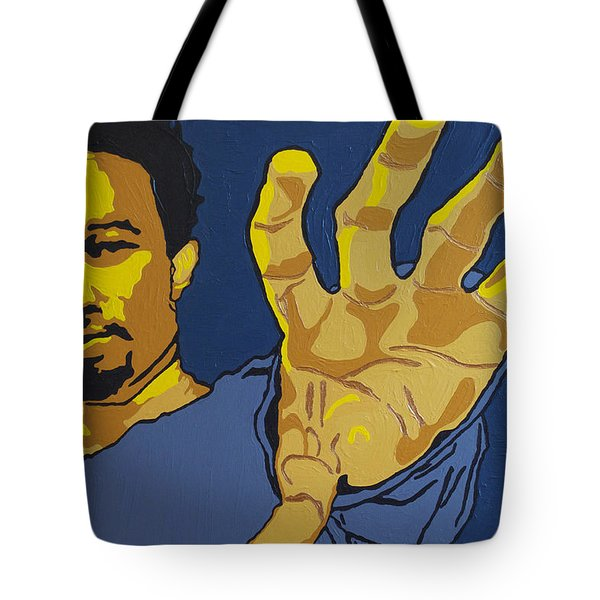 John Legend Tote Bag