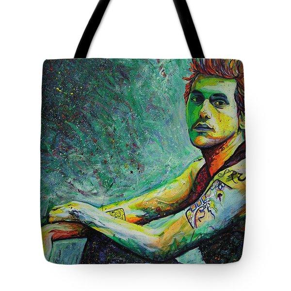 John Mayer Tote Bag by Joshua Morton