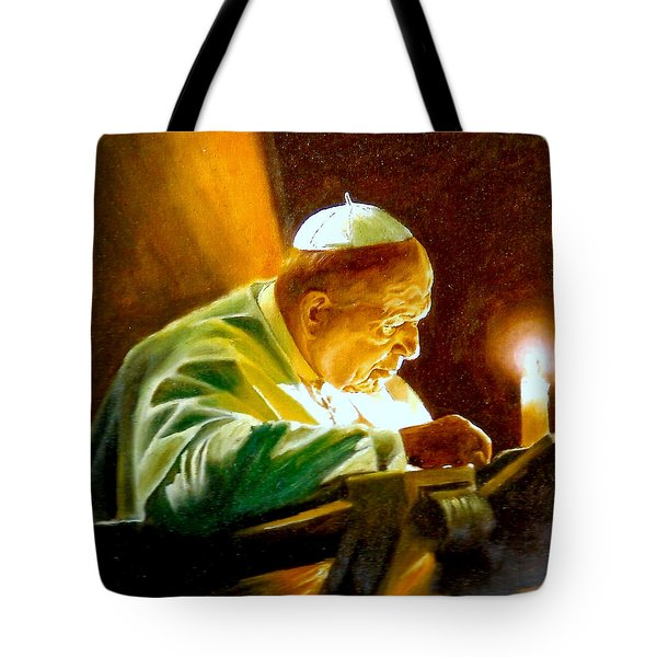John Paul II Tote Bag