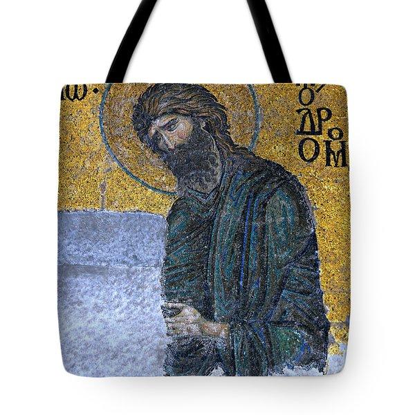 John The Baptist Tote Bag by Stephen Stookey