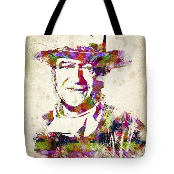 John Wayne Portrait Tote Bag