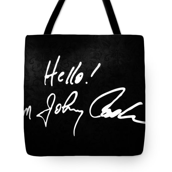 Johnny Cash Museum Tote Bag