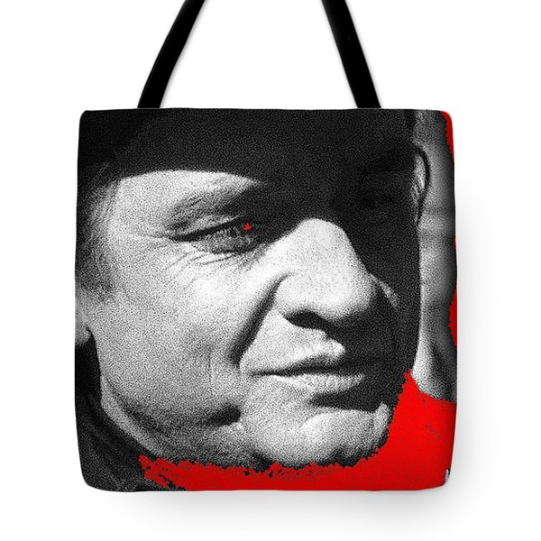 Tote Bag featuring the photograph Johnny Cash Music Homage Ring Of Fire Old Tucson Arizona 1971 by David Lee Guss