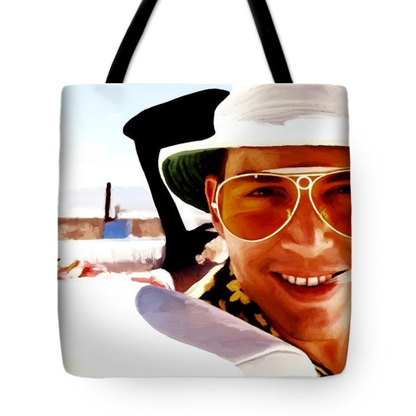 Johnny Depp @ Fear And Loathing In Las Vegas Tote Bag