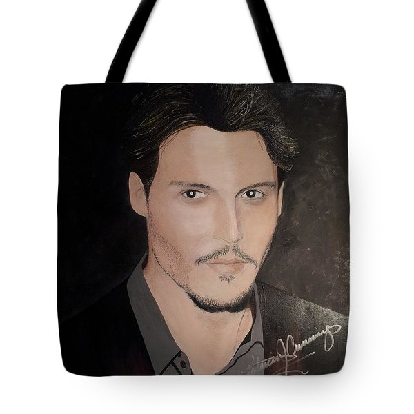Johnny Depp - The Actor Tote Bag