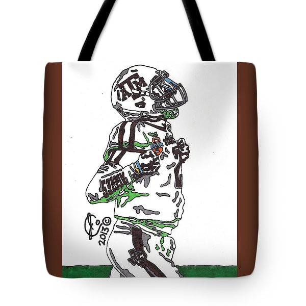 Johnny Manziel 4 Tote Bag by Jeremiah Colley