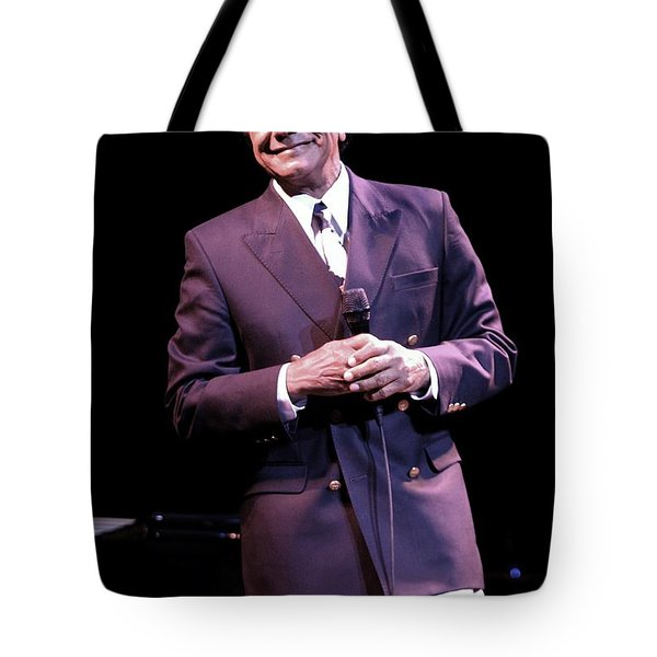 Johnny Mathis Tote Bag