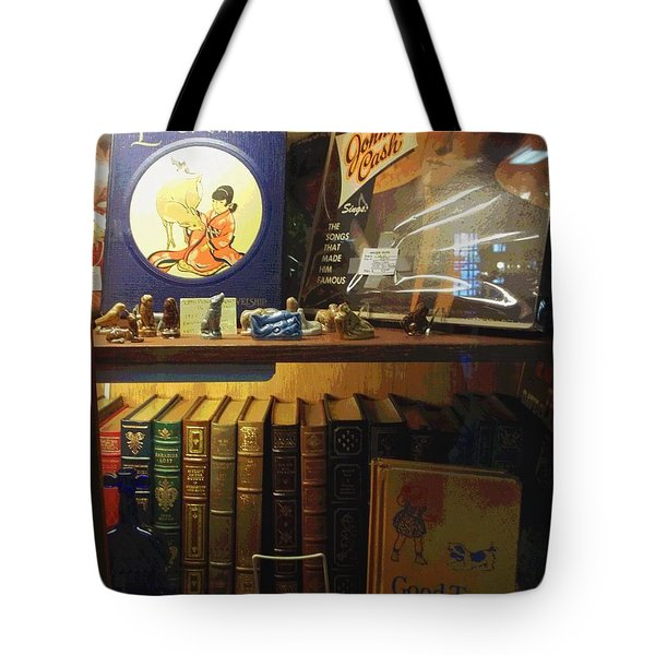 Johnny On The Spot Tote Bag
