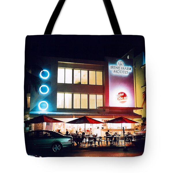 Johnny Rockets Polaroid Tote Bag