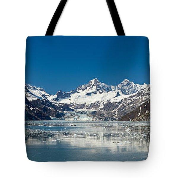 Johns Hopkins Glacier In Glacier Bay Tote Bag