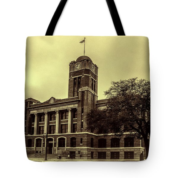 Johnson County Courthouse Tote Bag