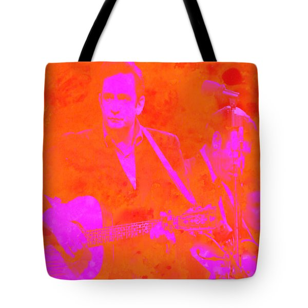 Johny Cash 3 Tote Bag by Brian Reaves