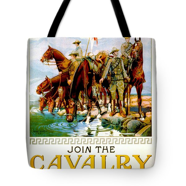 Join The Cavalry 1920 Tote Bag by Padre Art
